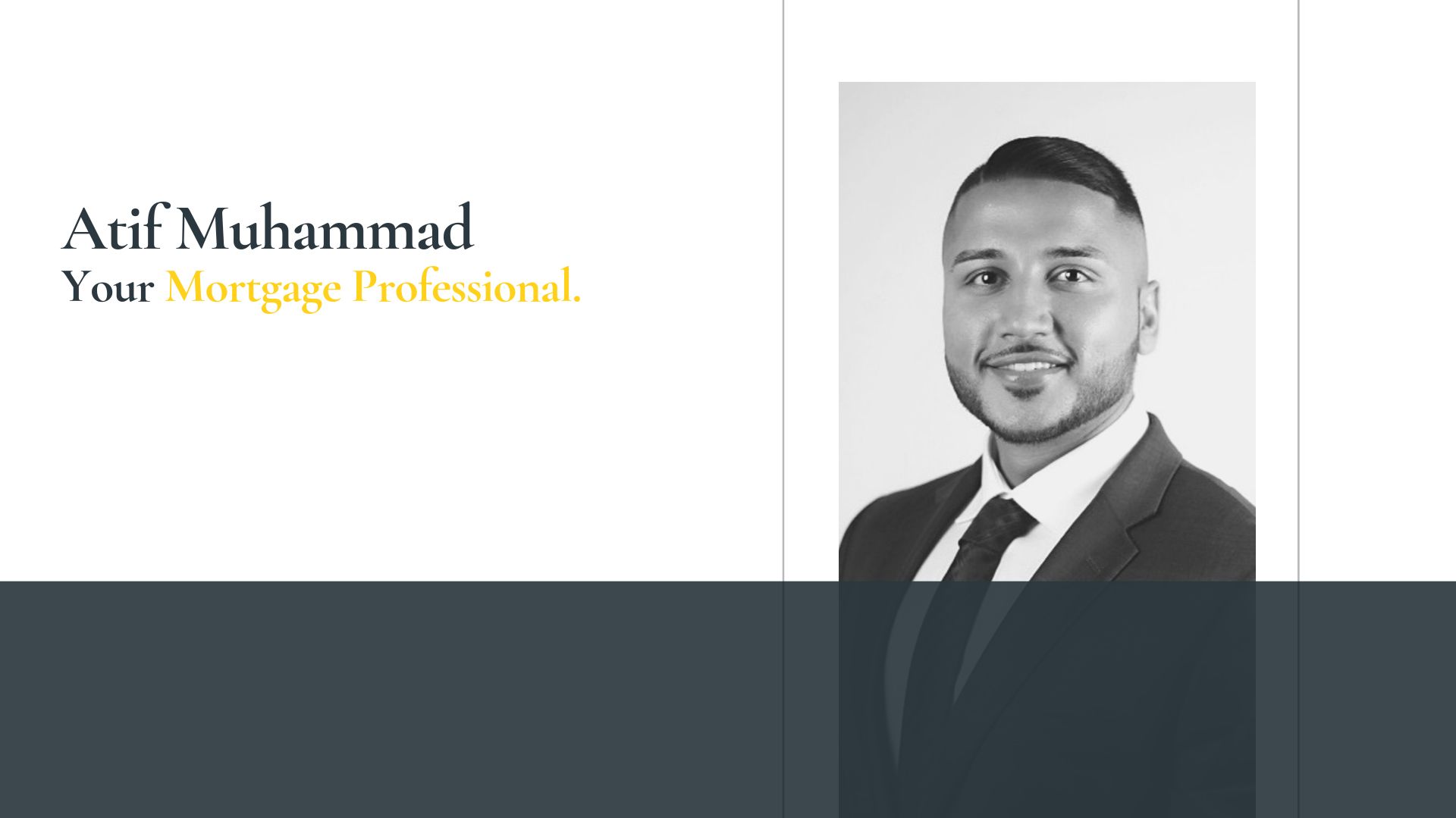 Atif Muhammad Mortgage Broker
