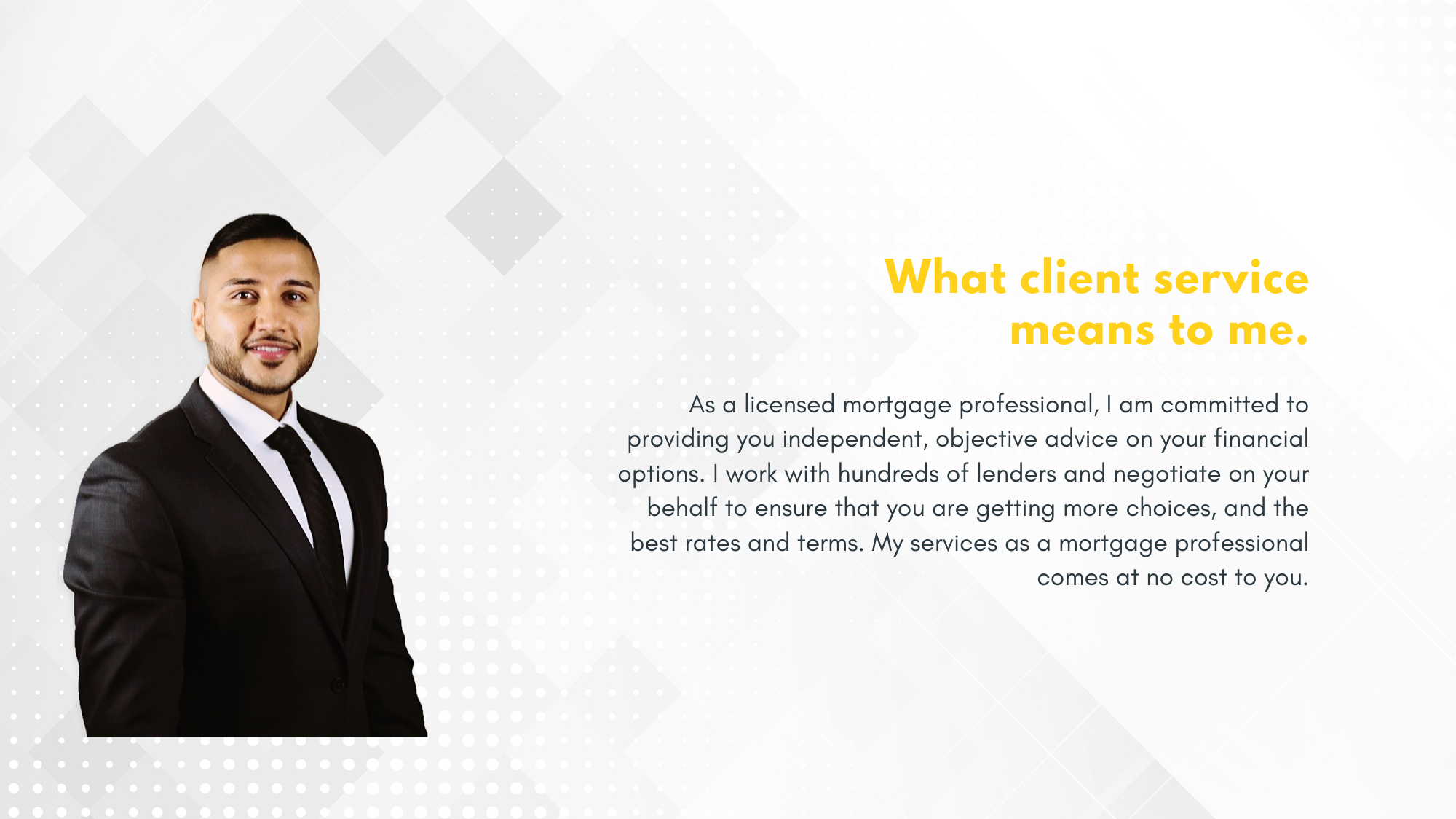 Mortgage Broker Client Service
